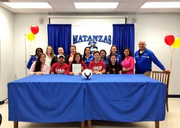 Gabbi Paiz finished her soccer career at Matanzas with 104 goals and 75 assists. (Courtesy photo)