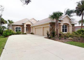 This Palm Coast Plantation home on the Intracoastal Waterway sold for $420,000. COURTESY PHOTO
