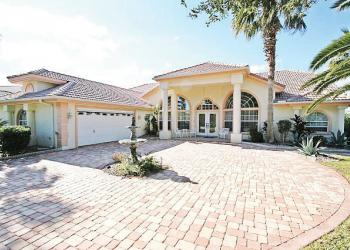 This Palm Harbor salt water canal home sold for $450,000.