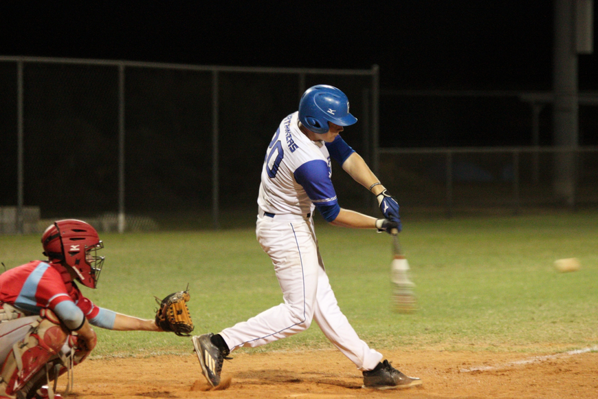Bobby Sparling is batting .426 thus far in the season. Photo by Jeff Dawsey