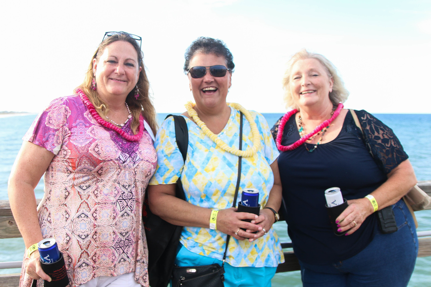 Bunnell resident Beth Taylor, Palm Coast resident Bonnie Lennon and Bunnell resident Debbie Cook. Photo by Paige Wilson