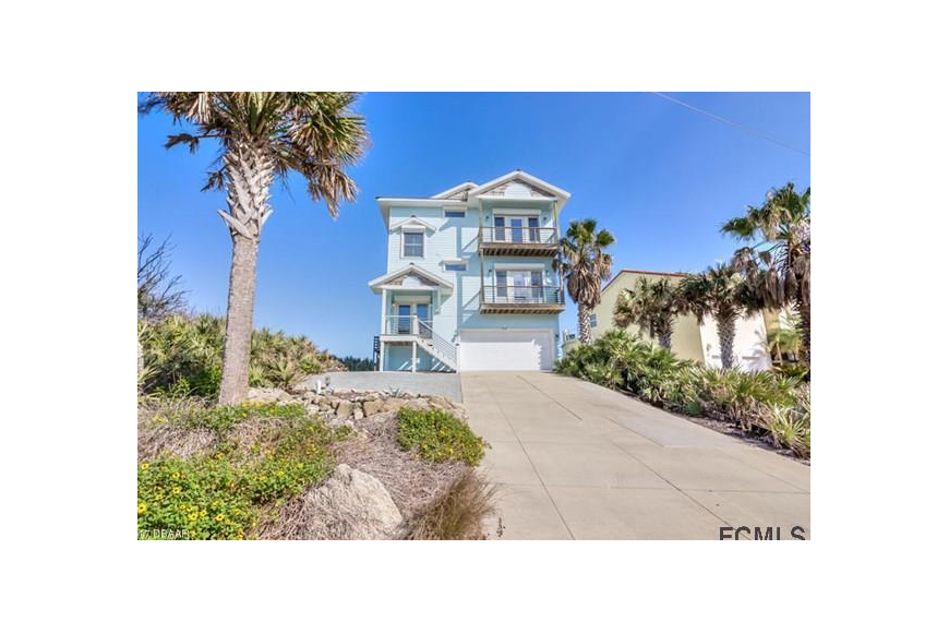 The top-selling house is on the beachside. Courtesy photo