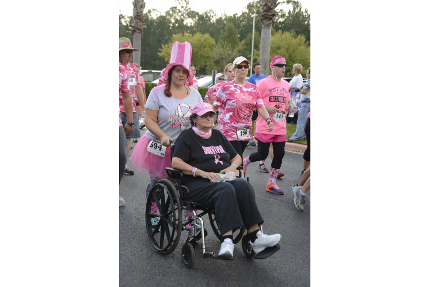 Judy Mazzella with her mother Elaine Phillips, a breast cancer survivor of seven years.