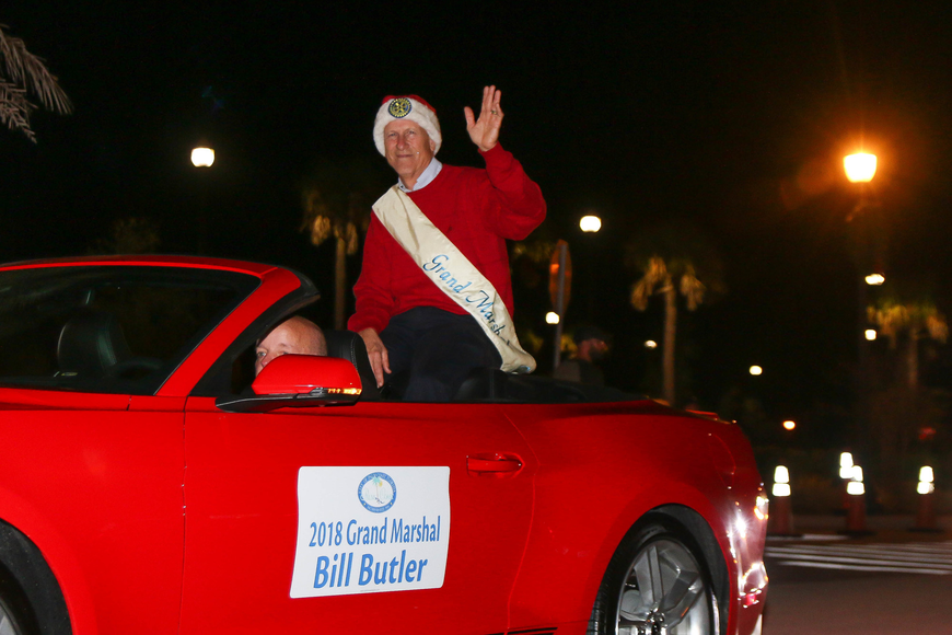 Bill Butler, recently retired city of Palm Coast landscape architect, is the grand marshal. Photo by Paige Wilson