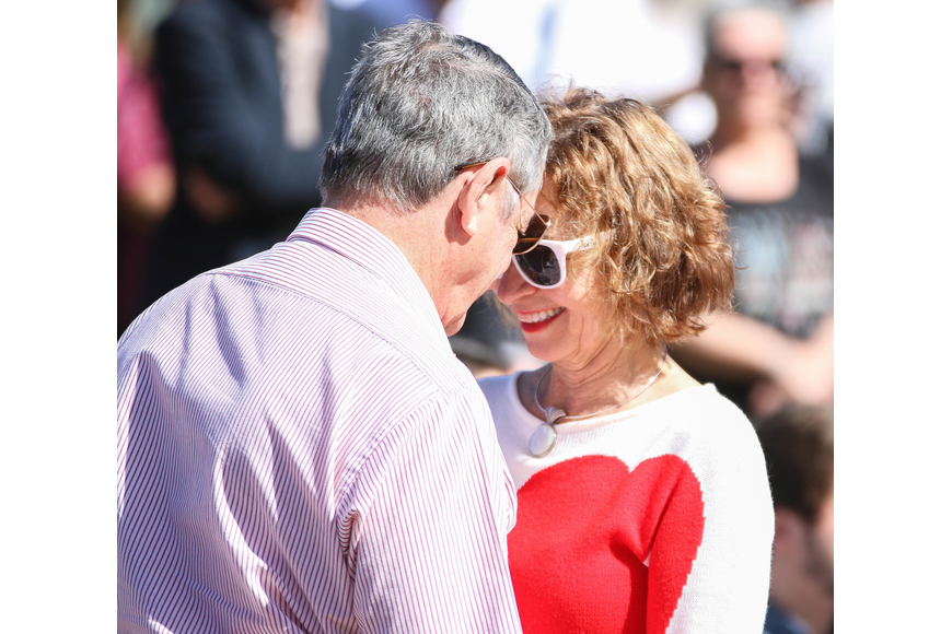 Flagler Beach residents Michele Burpeau and Silvio DiGregorio renewed their vows after being married 37 years to the day. Photo by Paige Wilson