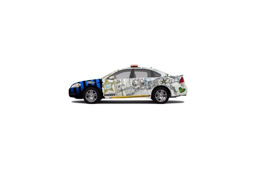 A rendering of the Belle Terre Elementary School SRD car. Photo courtesy of FCSO