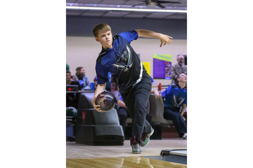 A Matanzas player bowls against FPC. Photo by Ray Boone
