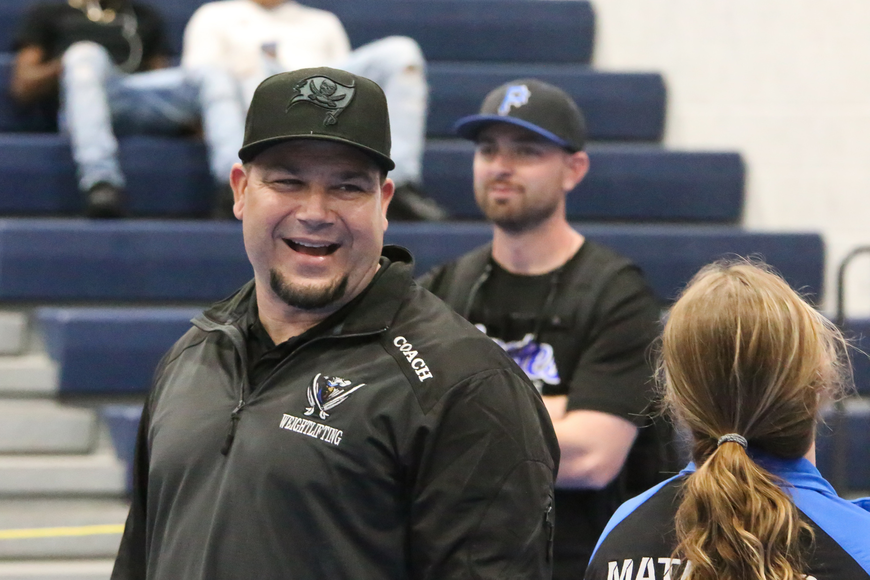Matanzas head coach Jeremy Ossler. Photo by Ray Boone