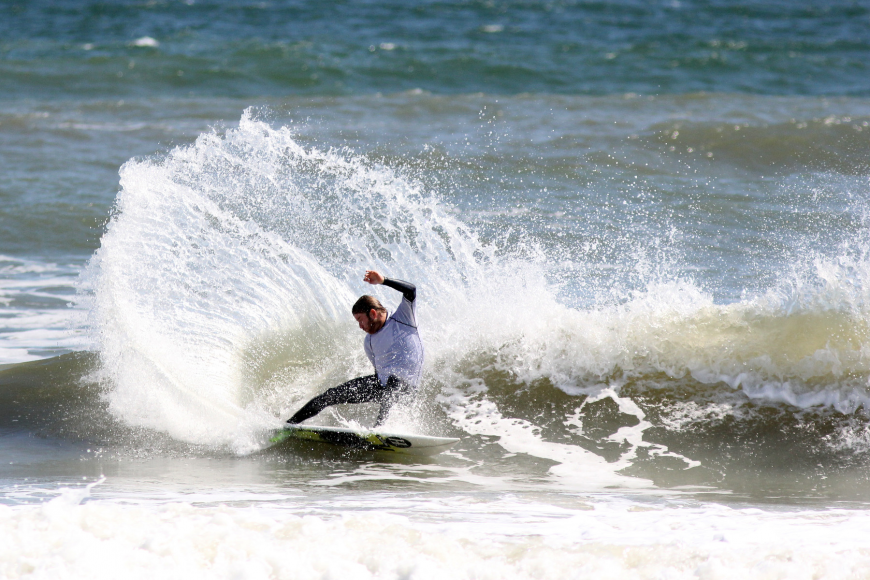 "Aaron ""Gorkin"" Cormican, of New Smyrna Beach, took the win in the Men' Pro division."