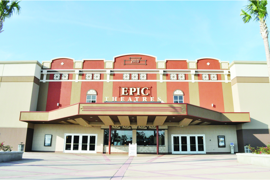Town Center's Epic Theatres has quickly become a city landmark.