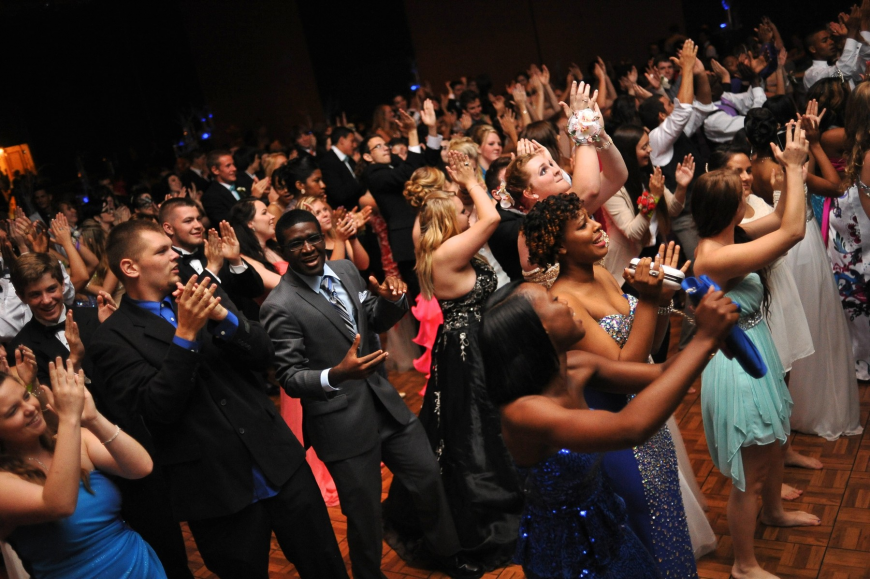About 550 students attended FPC's prom at the Daytona Hilton Friday night. (Photo by Joey LoMonaco)