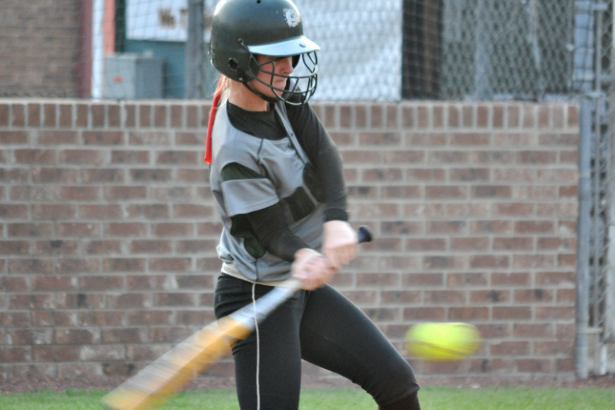 FPC shortstop Destiny Kelley bats Wednesday, April 27, in the Class 6A regional quarterfinals. Kelley had one of FPC's two singles.