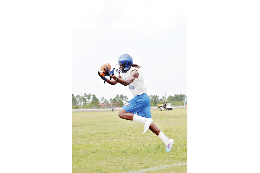Dorian Stanard was a key player to watch leading into the Matanzas High School football season.