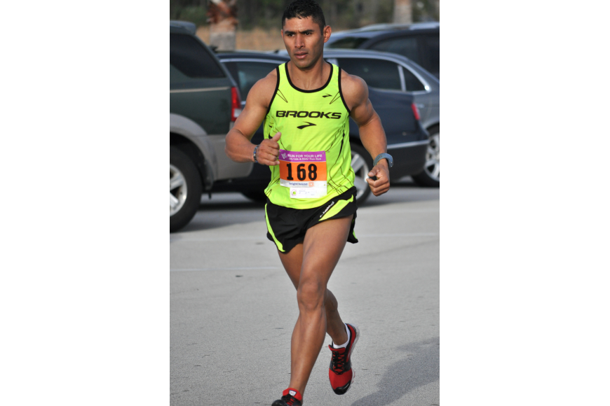 Jose Musso finished the 10K third overall in 33 minutes and 48 seconds.