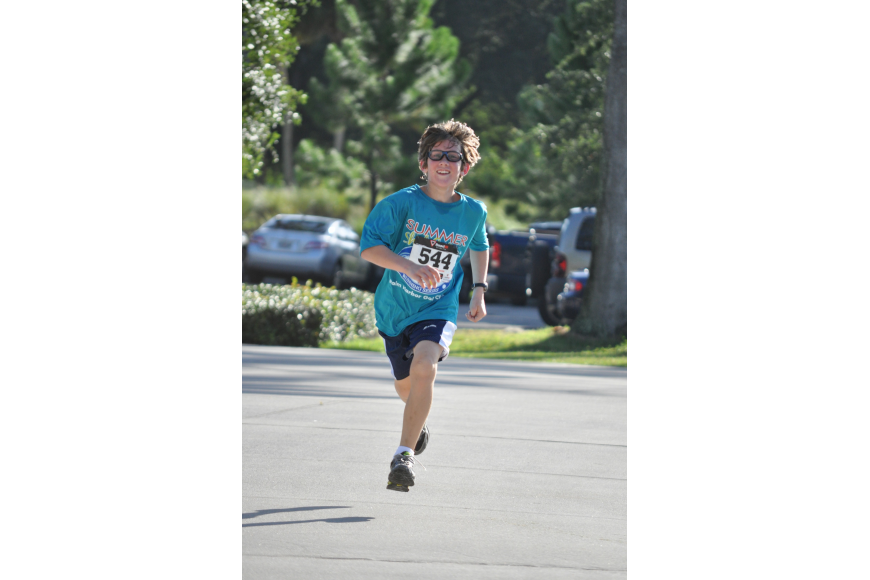 Josiah Schrodt, of Lexington, S.C. ran the two-mile in 20-minutes and 58-seconds.